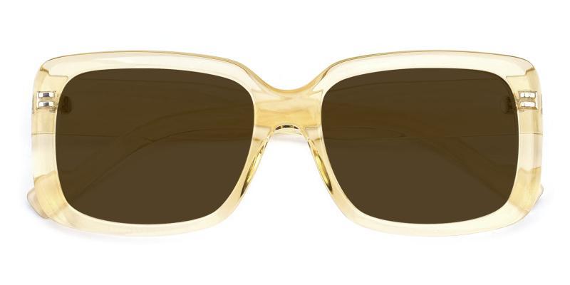 Summer-Yellow-Sunglasses