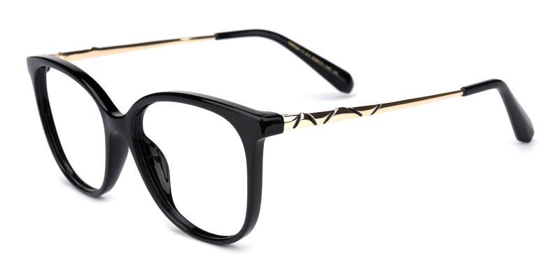 Vivi-Black-Eyeglasses