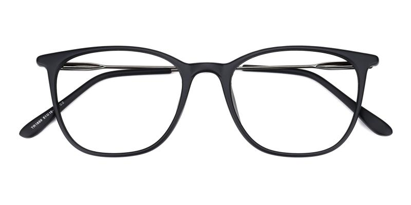 Who-Black-Eyeglasses