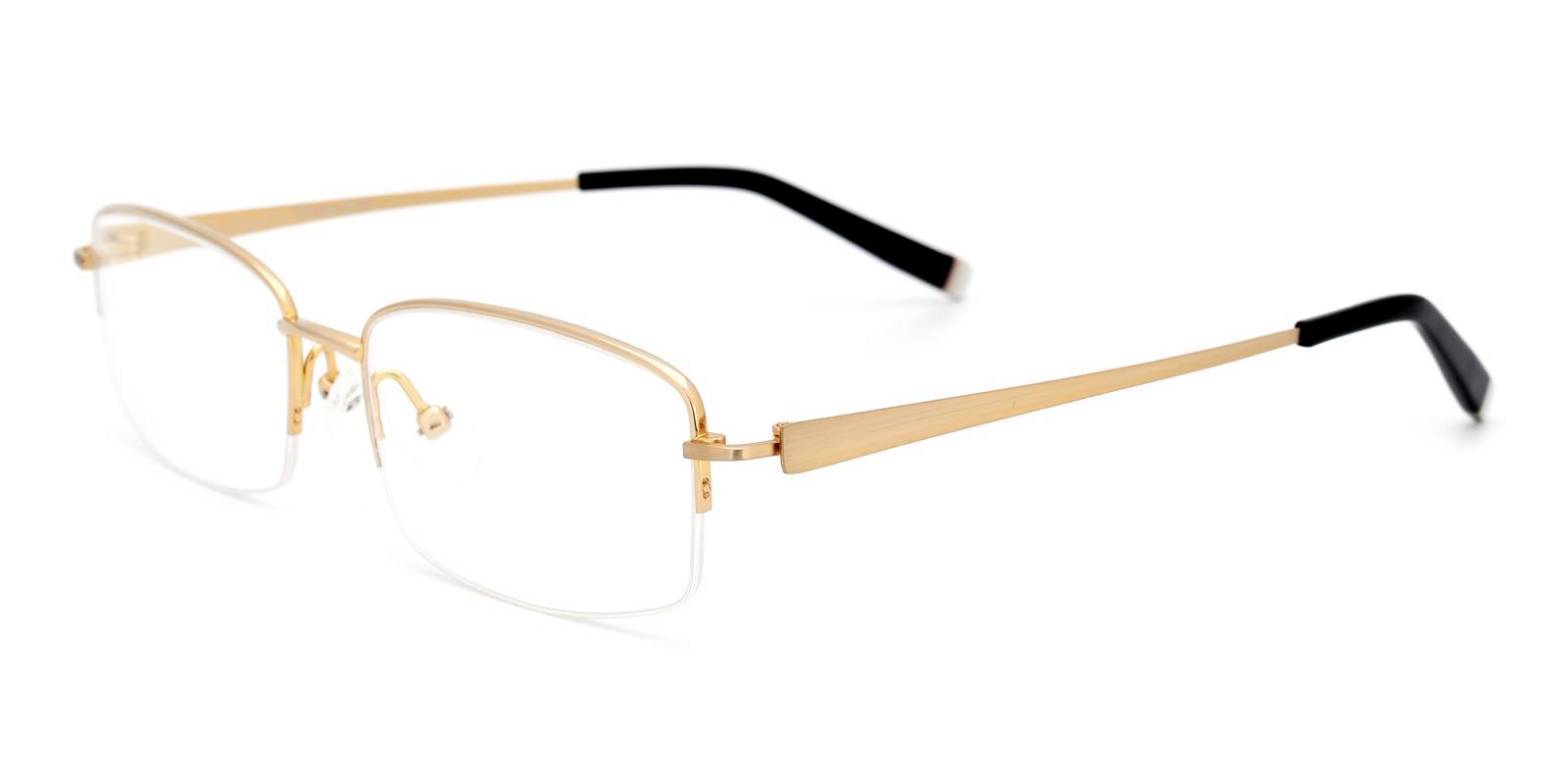 Leave-Gold-Rectangle-Titanium-Eyeglasses-detail