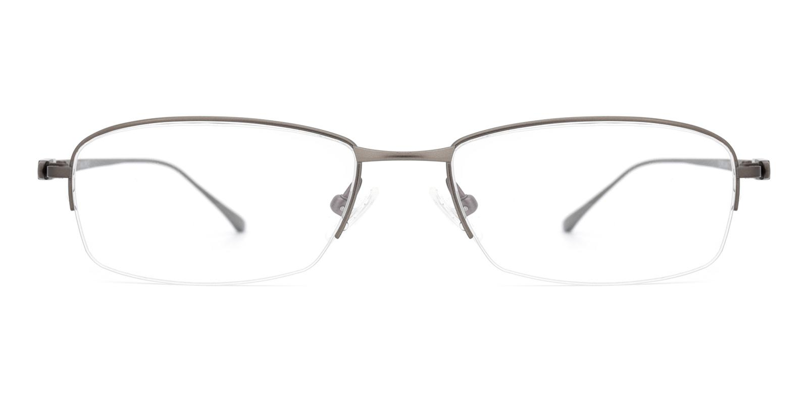 Kol-Gray-Rectangle-Titanium-Eyeglasses-detail