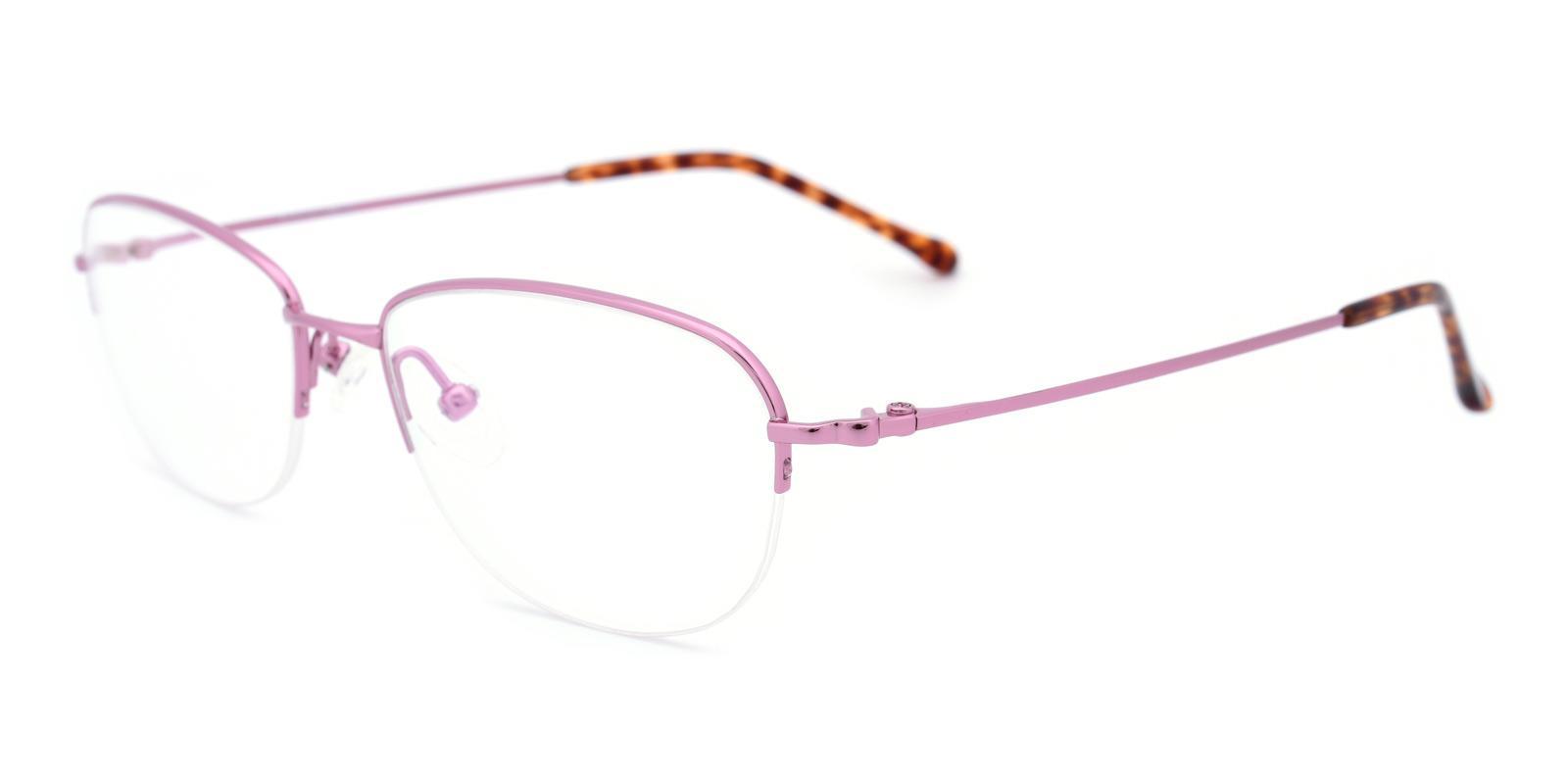 Melody-Pink-Oval-Titanium-Eyeglasses-detail