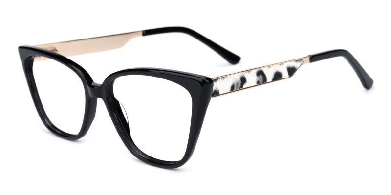 Venus-Black-Eyeglasses