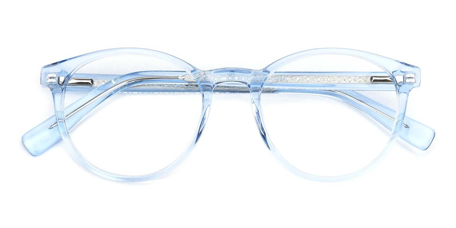 Cupid-Blue-Round-Acetate-Eyeglasses-detail