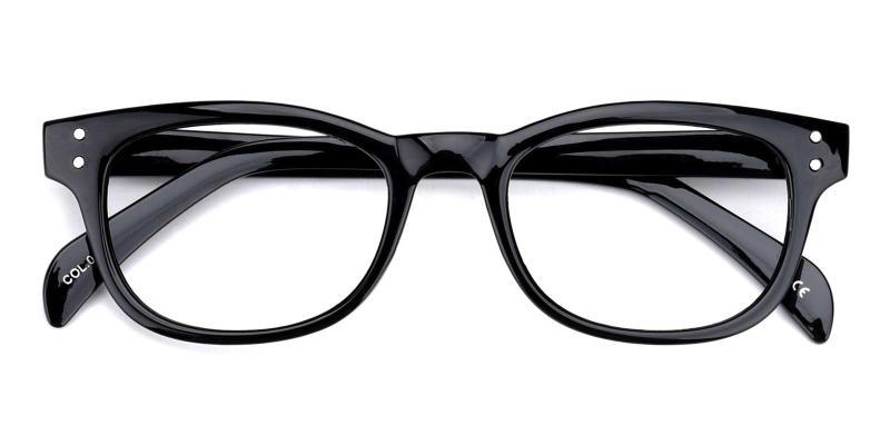 Bob-Black-Eyeglasses