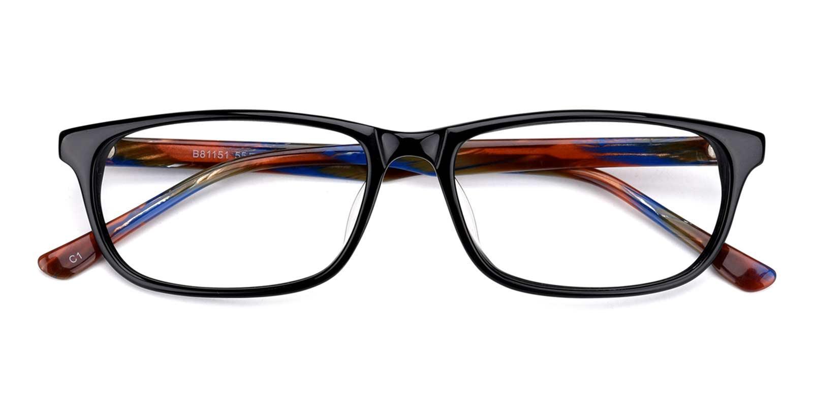 Equator-Black-Rectangle-Acetate-Eyeglasses-detail