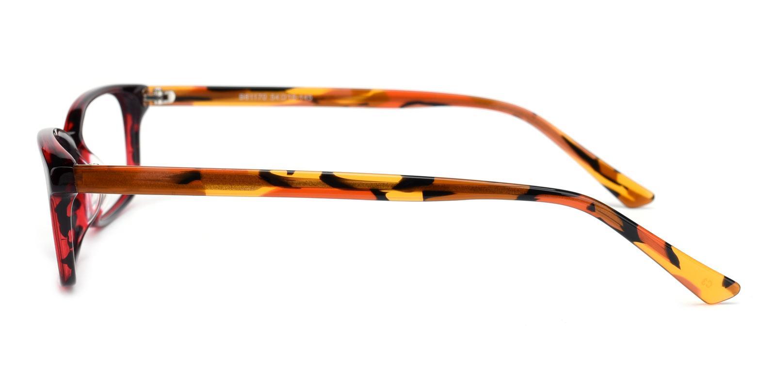 Pumpkin-Red-Rectangle-Acetate-Eyeglasses-detail