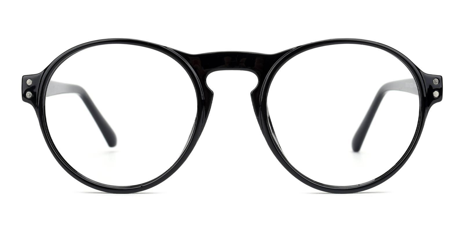 Smash-Black-Round-Plastic-Eyeglasses-detail