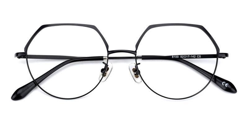 Nebula-Black-Eyeglasses