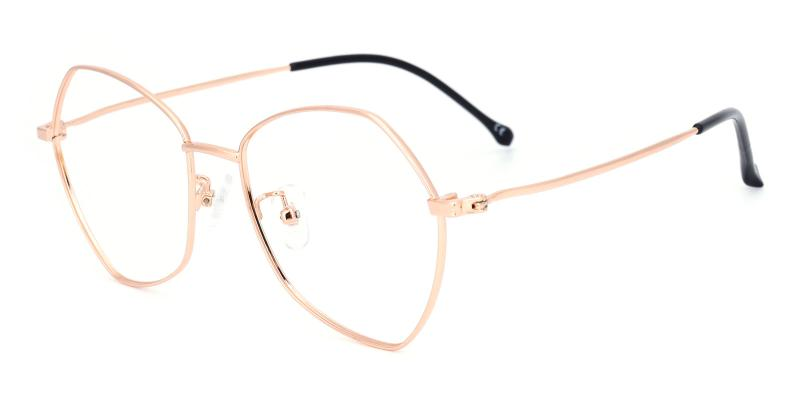 Compass-Gold-Eyeglasses