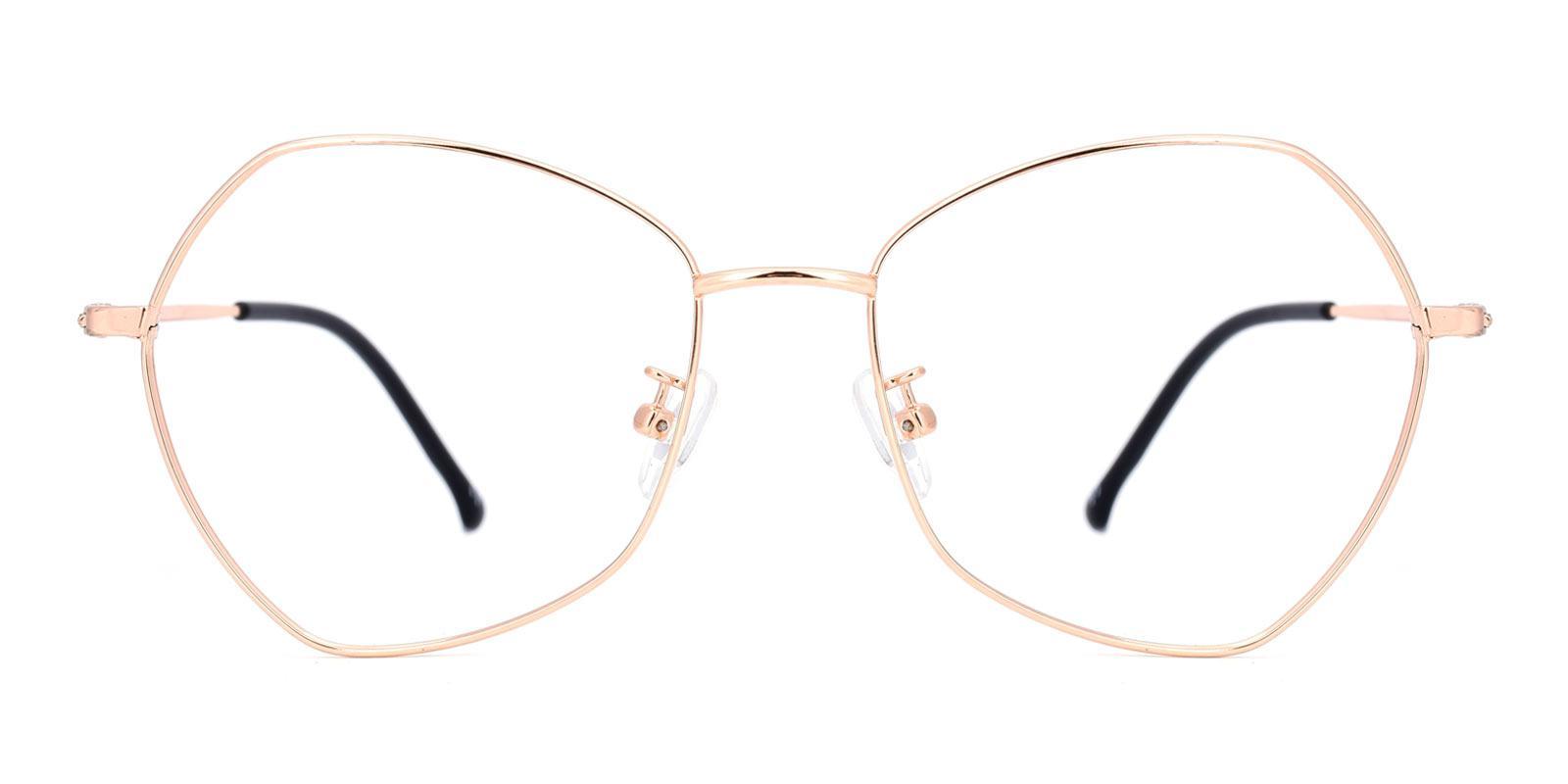 Compass-Gold-Geometric-Metal-Eyeglasses-detail