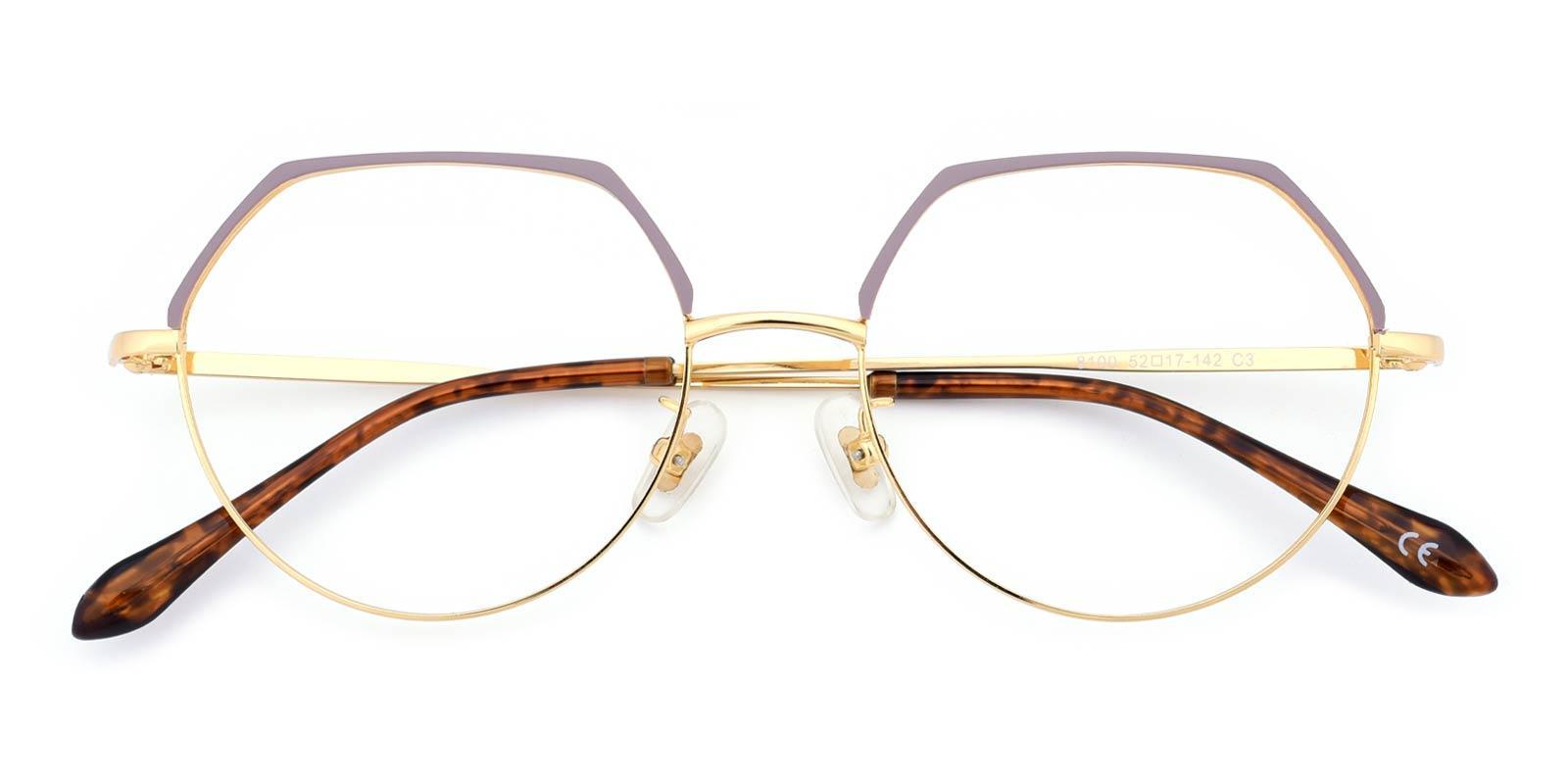 Dew-Purple-Round-Metal-Eyeglasses-detail
