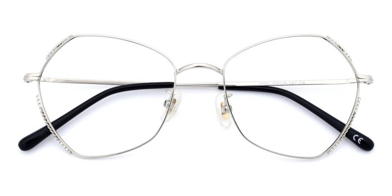 Spring-Silver-Eyeglasses