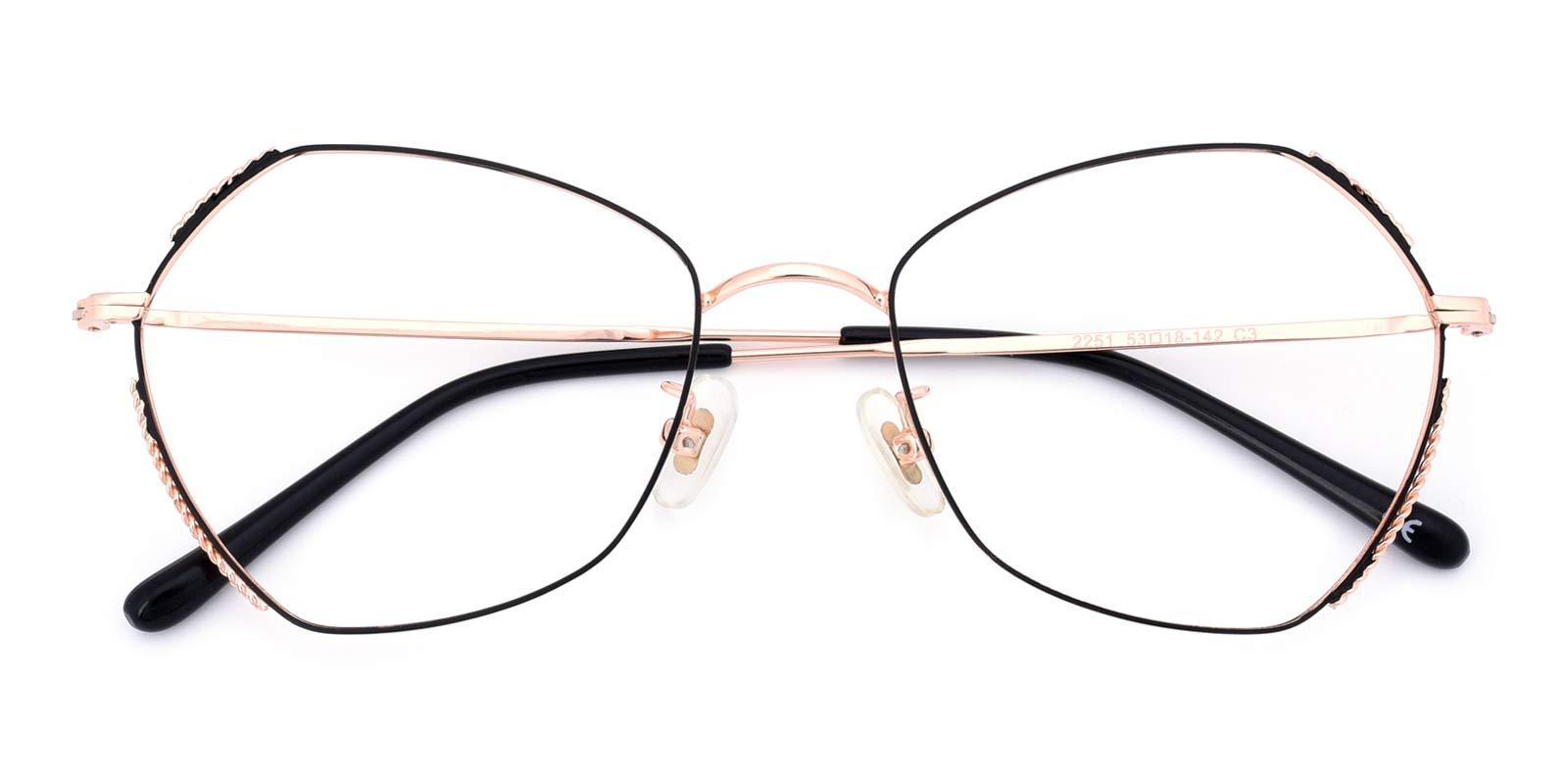 Summer-Gold-Geometric-Metal-Eyeglasses-detail