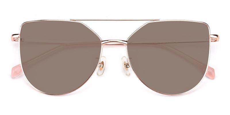 Nylon-Pink-Sunglasses