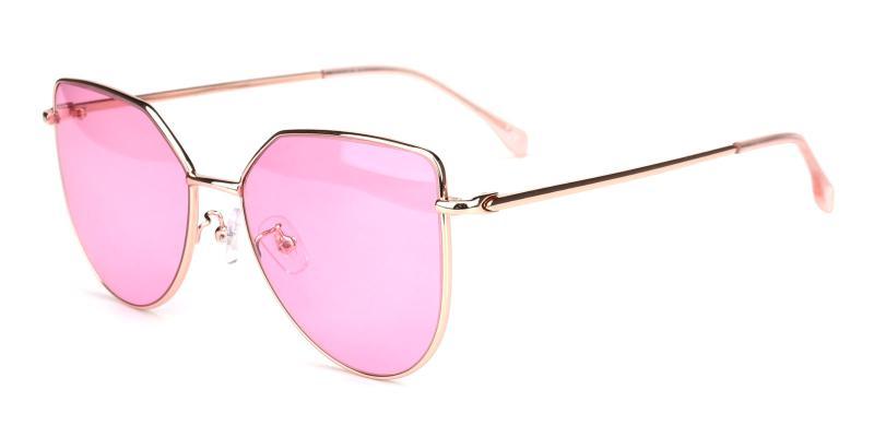 Reflection-Pink-Sunglasses