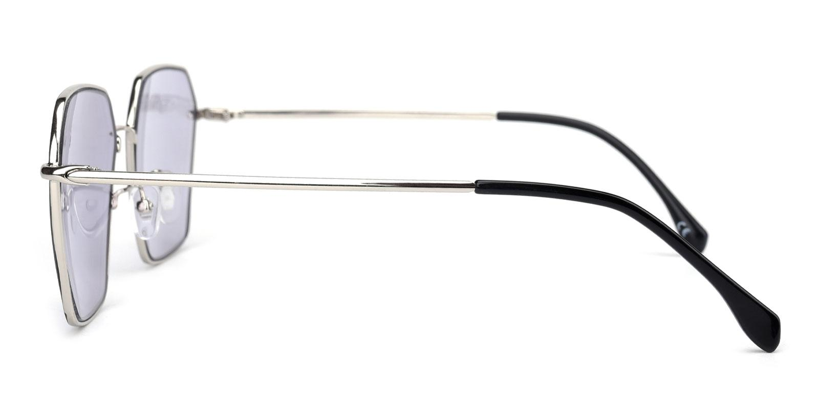 Locked-Black-Geometric-Metal-Sunglasses-detail