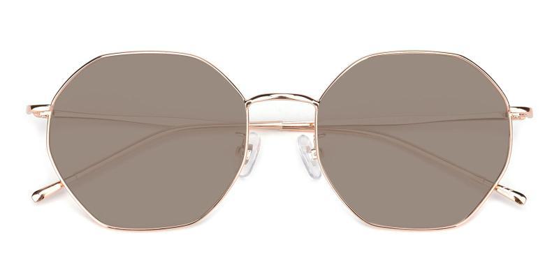 Pleasure-Gold-Sunglasses