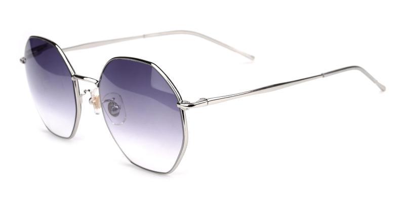 Pleasure-Silver-Sunglasses