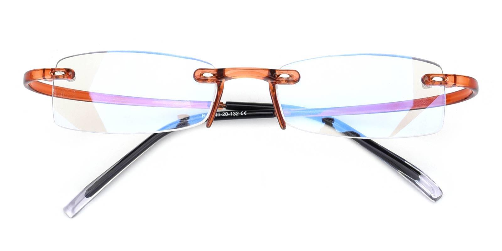 Hug-Brown-Rectangle-Plastic-Eyeglasses-detail