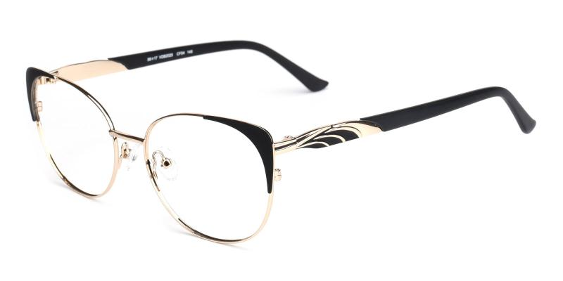 Dolores-Black-Eyeglasses