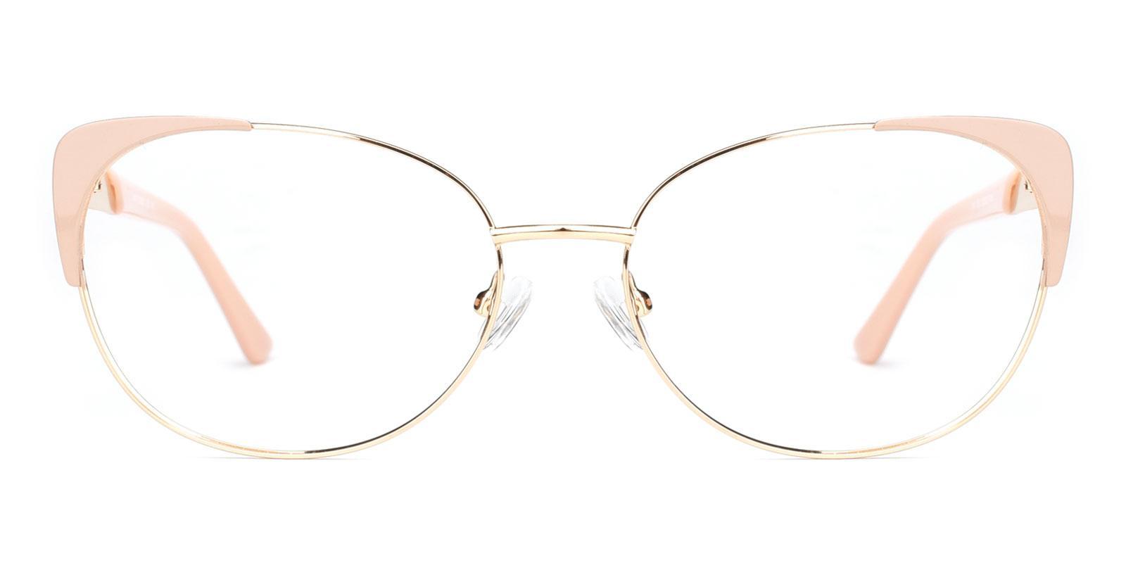Dolores-Pink-Cat-Metal-Eyeglasses-detail