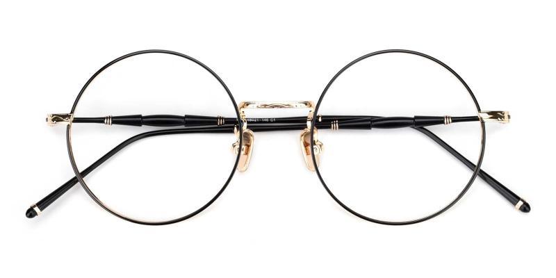 Toto-Black-Eyeglasses