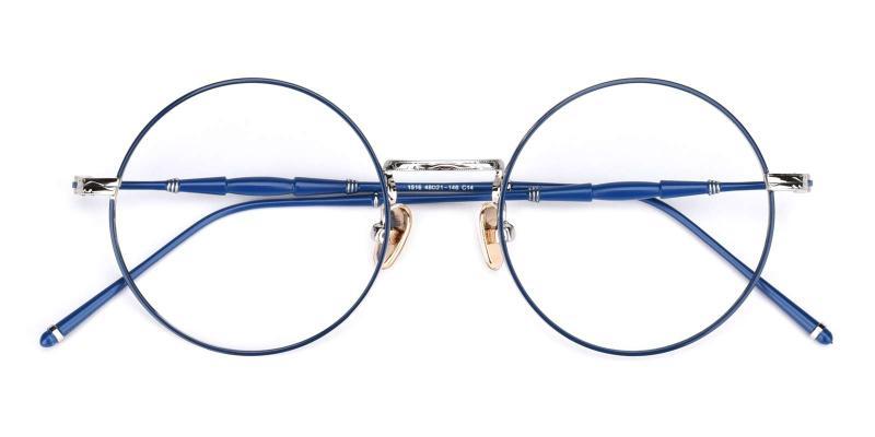 Toto-Blue-Eyeglasses