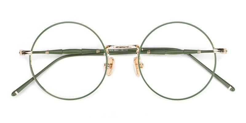 Toto-Green-Eyeglasses