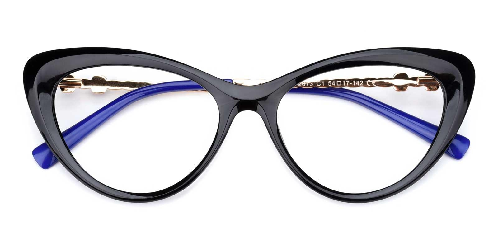 Mystery-Black-Cat-TR-Eyeglasses-detail