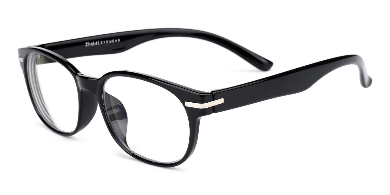 Una-Black-Rectangle-TR-Eyeglasses-detail