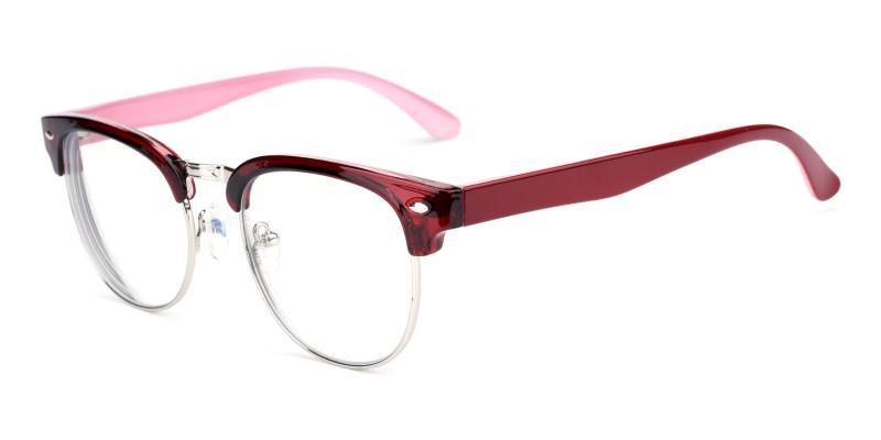 Hogan-Red-Eyeglasses