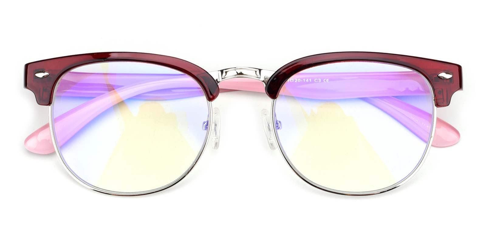 Hogan-Red-Browline-TR-Eyeglasses-detail
