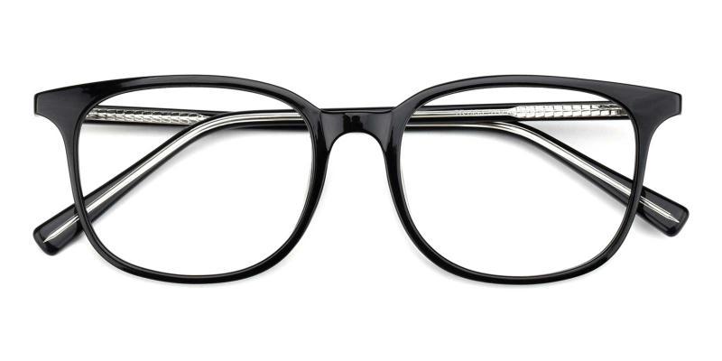 Corson-Black-Eyeglasses