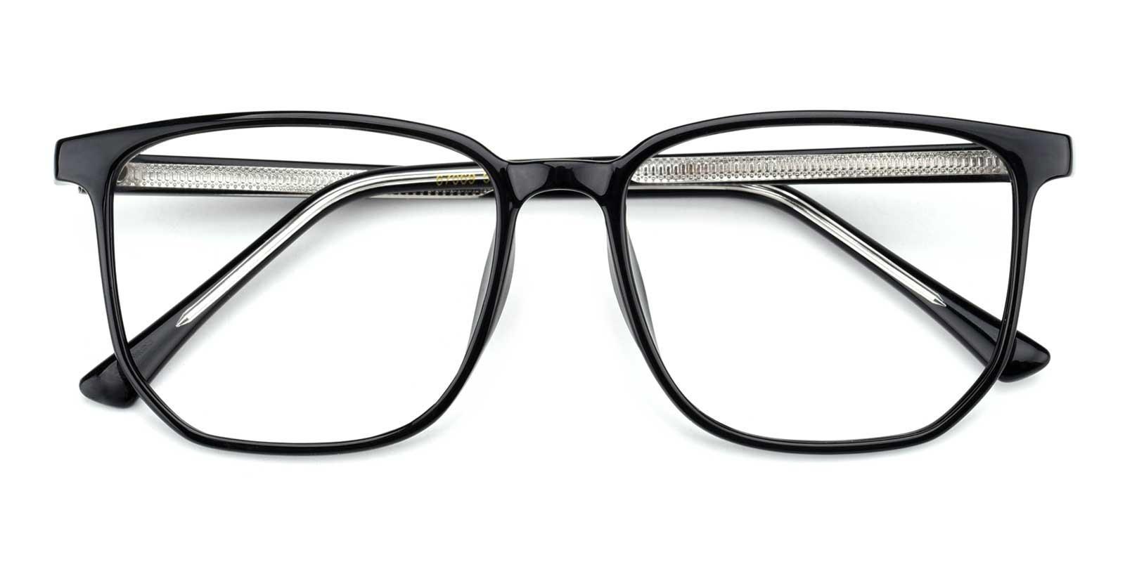 Sincere-Black-Rectangle-TR-Eyeglasses-detail