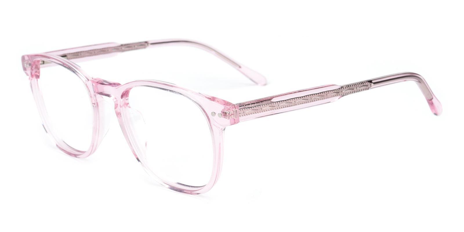 Knowledge-Pink-Rectangle-TR-Eyeglasses-detail