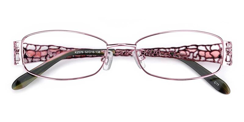Spider-Pink-Eyeglasses