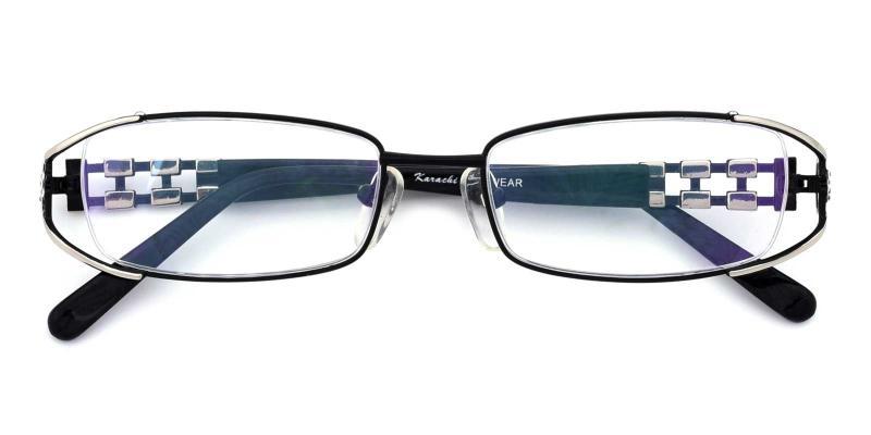 Kaki-Black-Eyeglasses