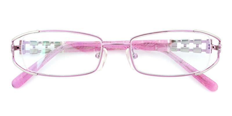 Kaki-Pink-Eyeglasses
