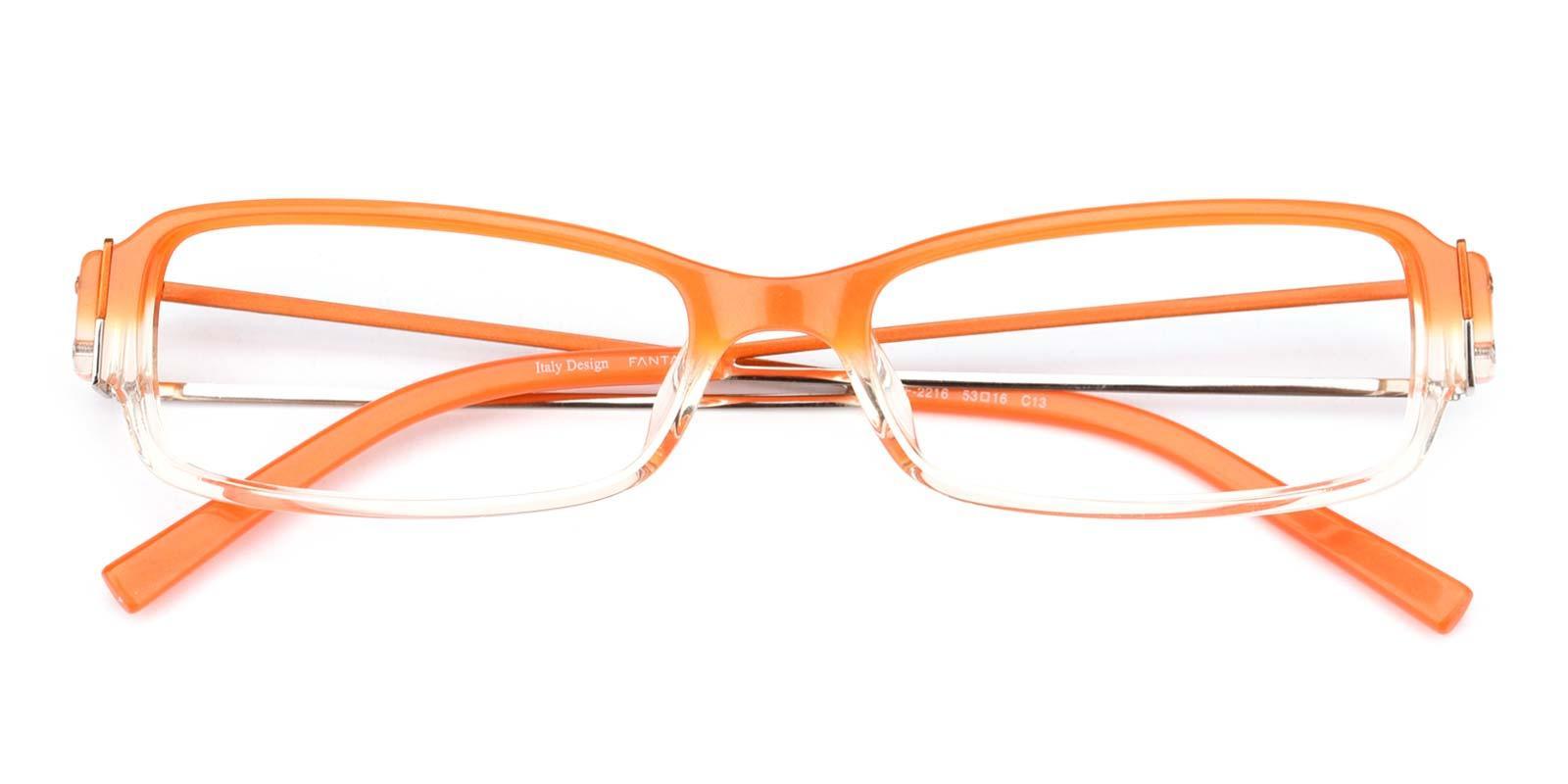 Fanta-Orange-Rectangle-Plastic-Eyeglasses-detail