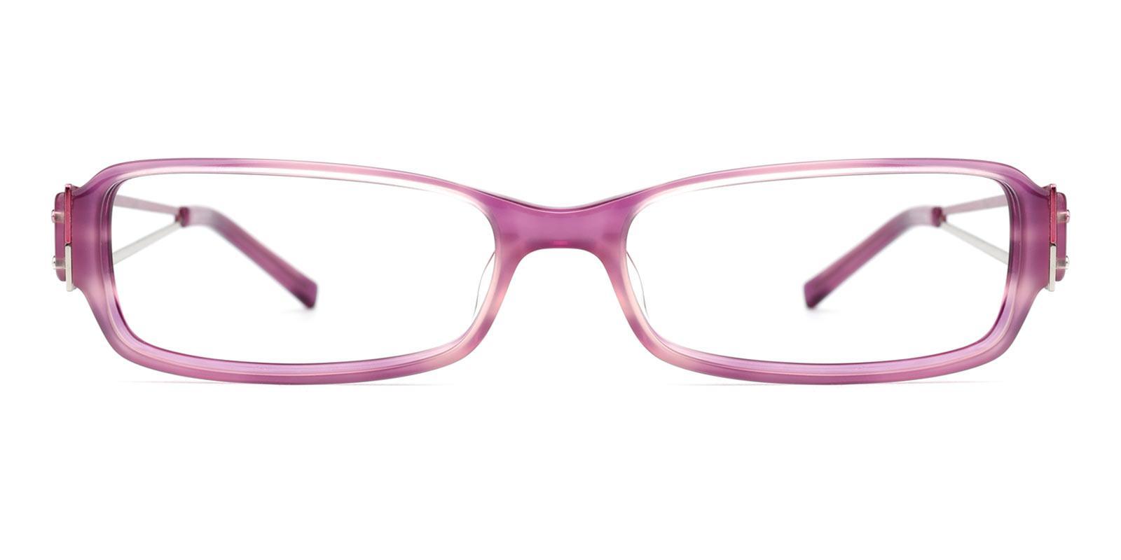 Fanta-Purple-Rectangle-Plastic-Eyeglasses-detail