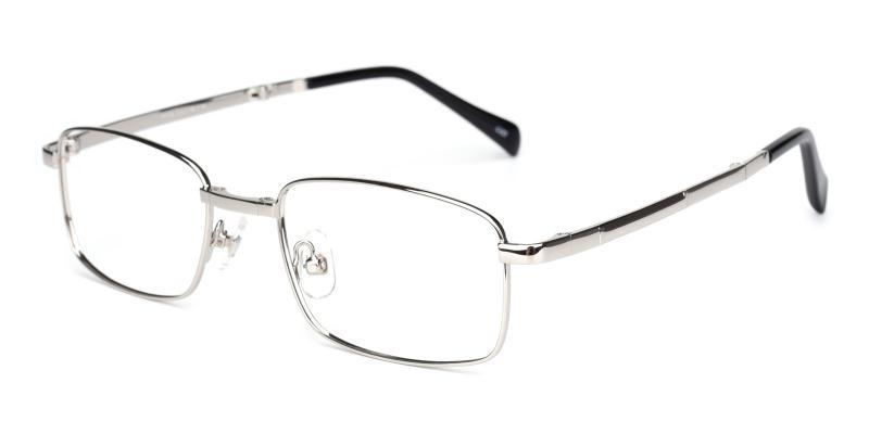 Logan-Silver-Eyeglasses