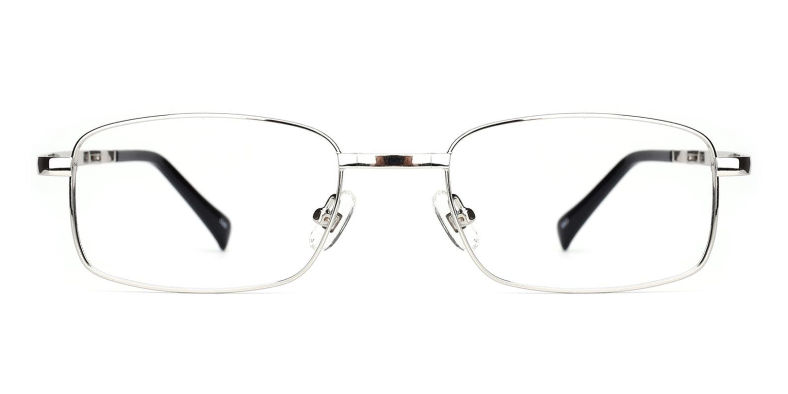 Logan-Silver-Rectangle-Metal-Eyeglasses-detail