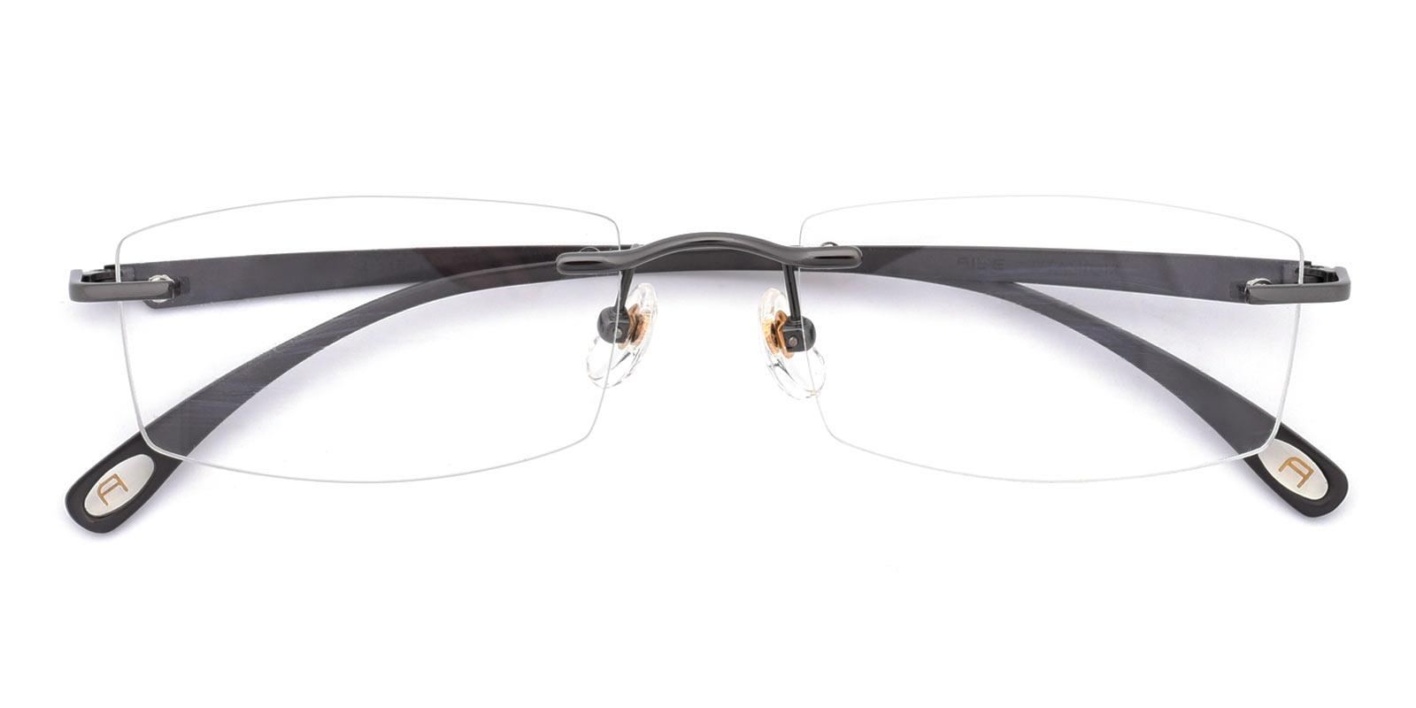 Wilbert-Gun-Rectangle-Titanium-Eyeglasses-detail