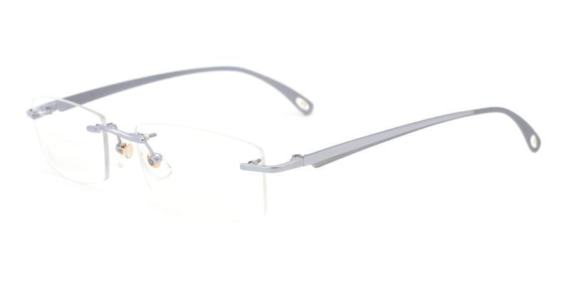 Wilbert-Silver-Eyeglasses