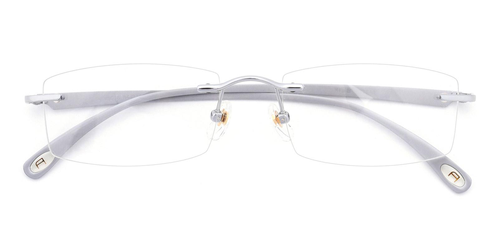 Wilbert-Silver-Rectangle-Titanium-Eyeglasses-detail