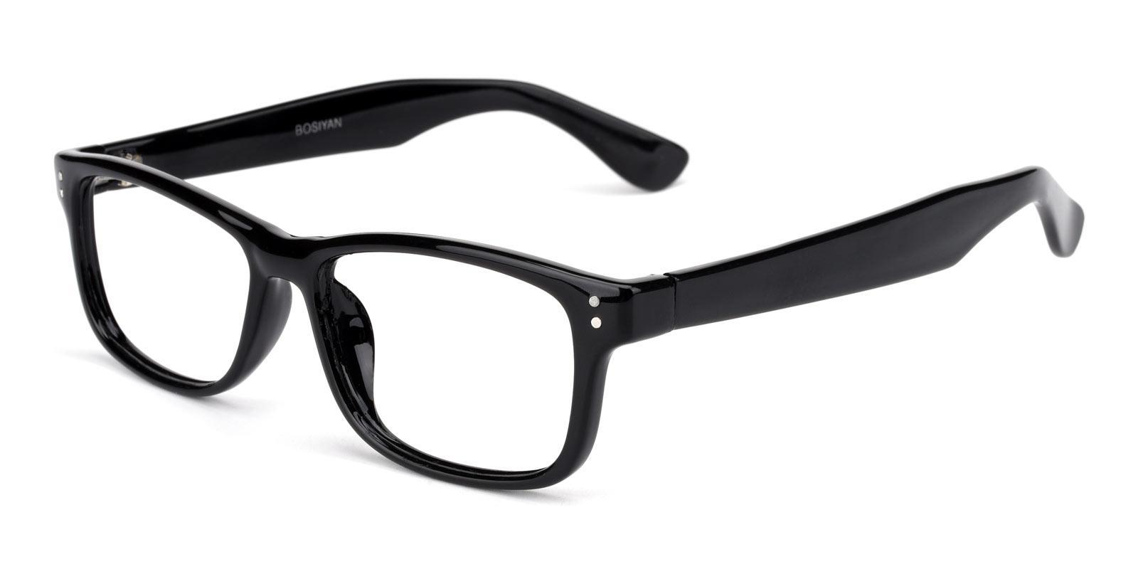Waldo-Black-Rectangle-Plastic-Eyeglasses-detail