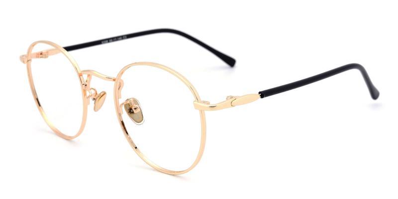 Donuts-Gold-Eyeglasses