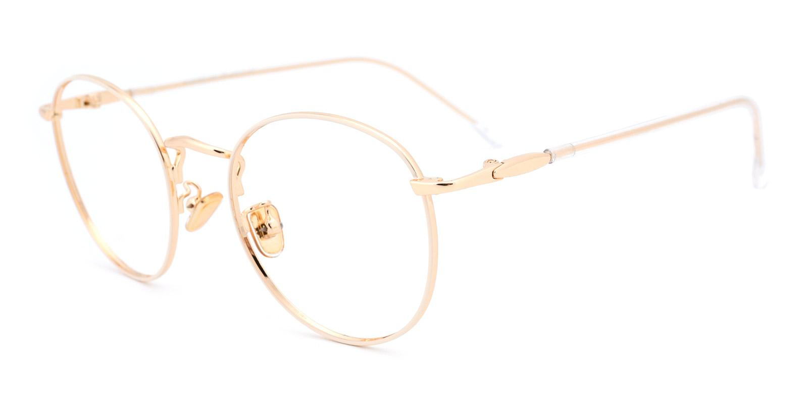 Donuts-White-Round-Metal-Eyeglasses-detail