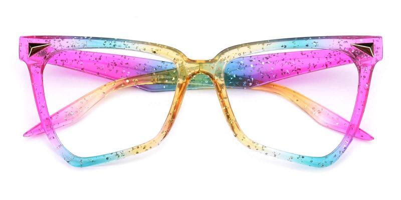 Rainbow-Multicolor-Eyeglasses